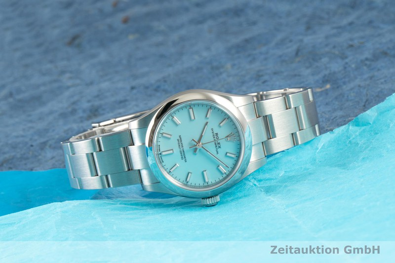 gebrauchte Luxusuhr Rolex Oyster Perpetual Stahl Automatik Ref. 277200  | 2102286 _0