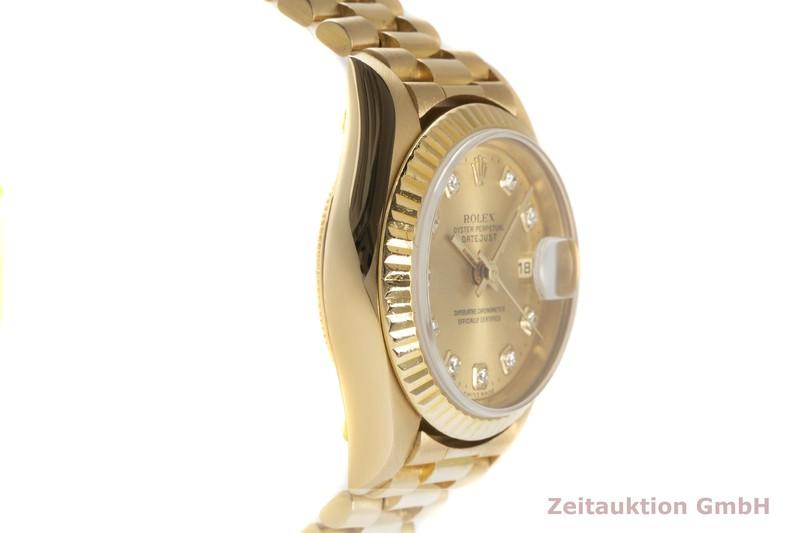 gebrauchte Luxusuhr Rolex Lady Datejust 18k Gold Automatik Kal. 2235 Ref. 79178  | 2102291 _0