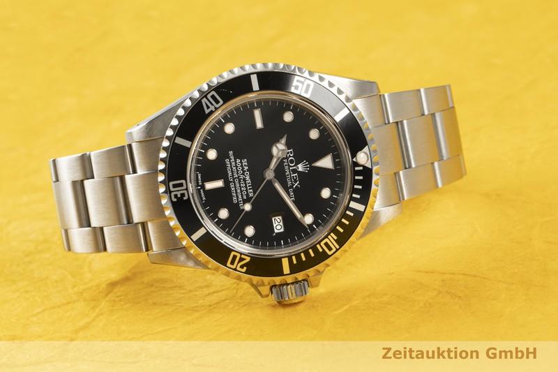gebrauchte Luxusuhr Rolex Sea Dweller Stahl Automatik Kal. 3135 Ref. 16600    2102298 _0