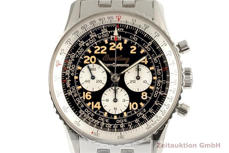 gebrauchte Luxusuhr Breitling Navitimer Cosmonaute Chronograph Stahl Handaufzug Kal. B12 Ref. A12022 LIMITED EDITION   2102317 _0