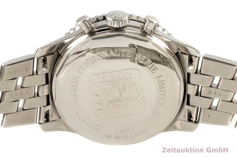 gebrauchte Luxusuhr Breitling Navitimer Cosmonaute Chronograph Stahl Handaufzug Kal. B12 Ref. A12022 LIMITED EDITION   2102317 _1