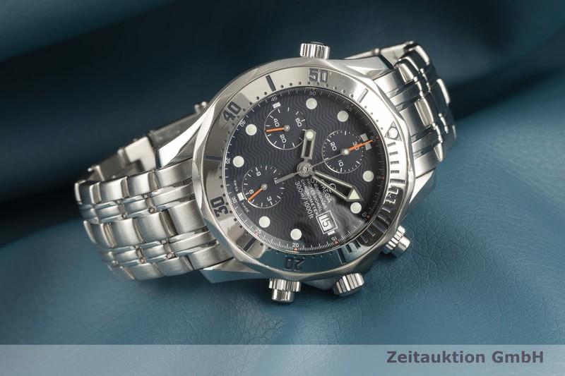 gebrauchte Luxusuhr Omega Seamaster Chronograph Stahl Automatik Kal. 1164 Ref. 2598.80.00, 178.0514, 378.0514  | 2102325 _0