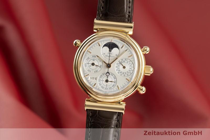 gebrauchte Luxusuhr IWC Da Vinci Chronograph 18k Gold Automatik Kal. 79251 Ref. 3751-006    2102333 _0