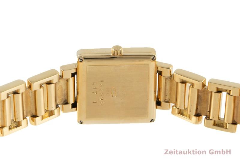 gebrauchte Luxusuhr Chopard Geneve 18k Gold Quarz Ref. 11/7410    2102340 _1