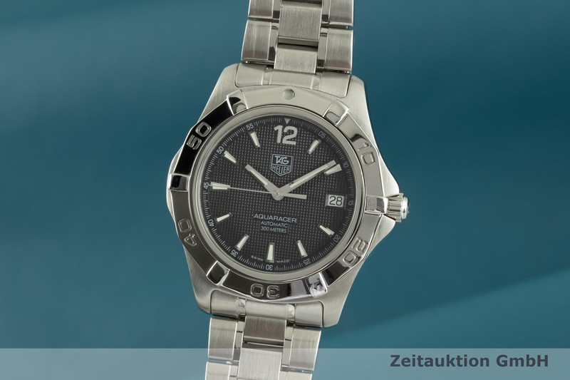 gebrauchte Luxusuhr Tag Heuer Aquaracer Stahl Automatik Kal. 5 Ref. WAF2110  | 2102353 _0