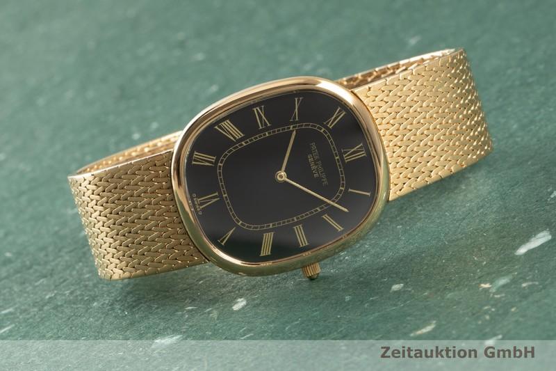 gebrauchte Luxusuhr Patek Philippe Ellipse 18k Gold Automatik Kal. 240 Ref. 3738/1    2102372 _0
