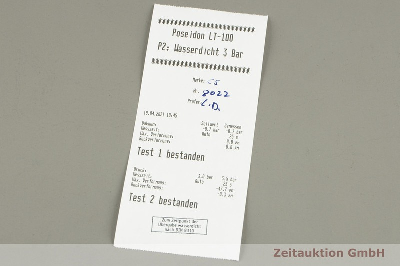 gebrauchte Luxusuhr Chronoswiss Delphis 18k Weissgold Automatik Kal. 124 Ref. CH1421W  | 2102376 _1