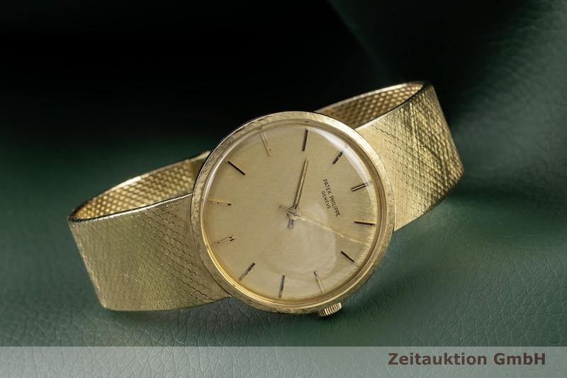 gebrauchte Luxusuhr Patek Philippe Calatrava 18k Gold Handaufzug Kal. 23-300PM Ref. 3468/5 VINTAGE    2102379 _0