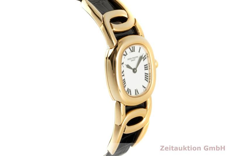 gebrauchte Luxusuhr Patek Philippe Ellipse 18k Gold Quarz Kal. E15 Ref. 4830  | 2102381 _0