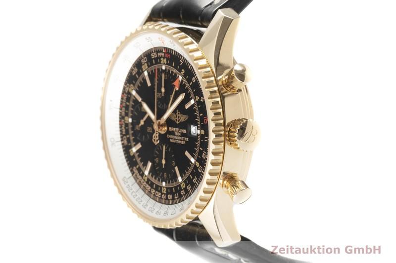 gebrauchte Luxusuhr Breitling Navitimer World Chronograph 18k Rotgold Automatik Kal. B24 Ref. H24322 LIMITED EDITION   2102399 _0