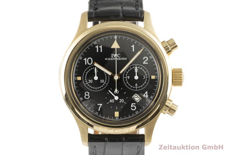 gebrauchte Luxusuhr IWC Fliegerchronograph Chronograph 18k Gold Quarz Kal. 630 Ref. 3740    2102401 _0