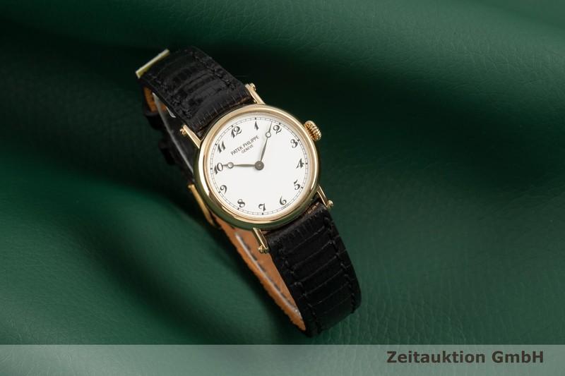 gebrauchte Luxusuhr Patek Philippe Calatrava 18k Gold Handaufzug Kal. 16-250 Ref. 4860    2102418 _0