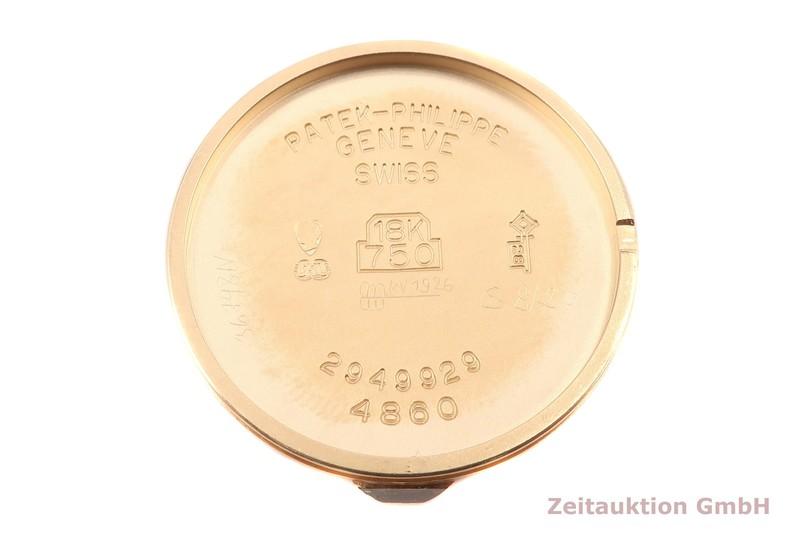 gebrauchte Luxusuhr Patek Philippe Calatrava 18k Gold Handaufzug Kal. 16-250 Ref. 4860    2102418 _1