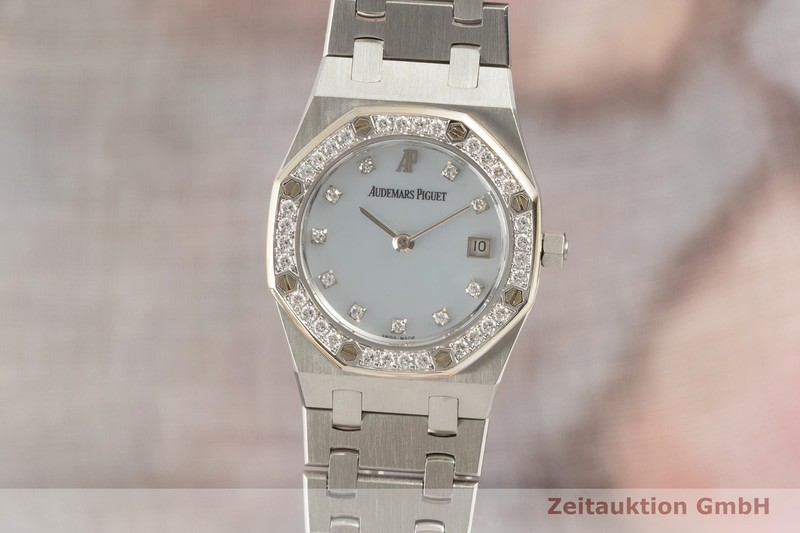 gebrauchte Luxusuhr Audemars Piguet Royal Oak Stahl Quarz Kal. 2510 Ref. 66344SC/Z/0722ST/01  | 2102456 _0