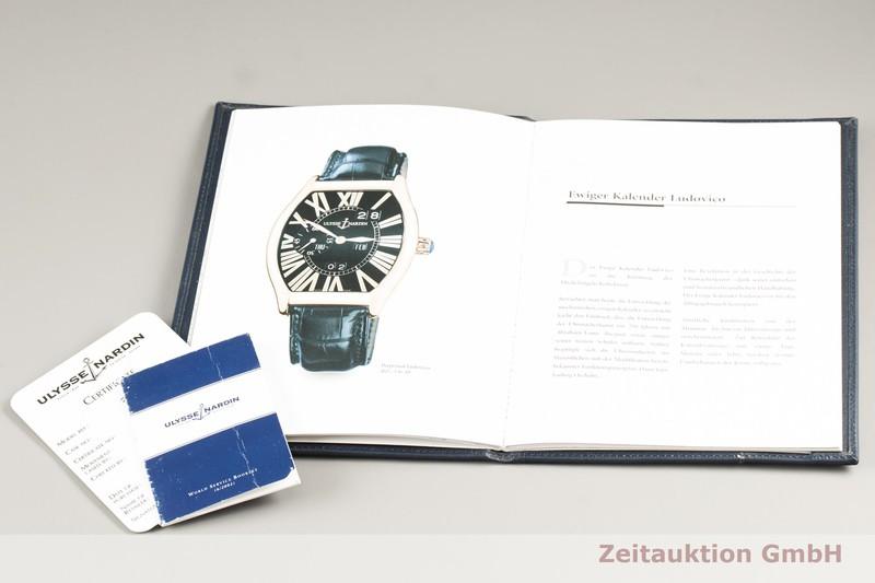 gebrauchte Luxusuhr Ulysse Nardin Michelangelo 18k Rotgold Automatik Kal. UN33 Ref. 336-48  | 2102461 _0