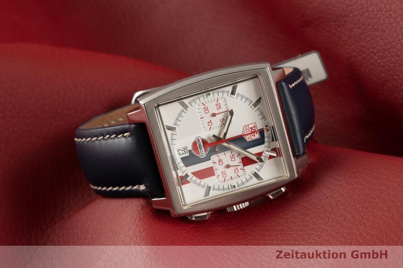 gebrauchte Luxusuhr Tag Heuer Monaco Chronograph Stahl Automatik Kal. 17 Ref. CW2118 LIMITED EDITION | 2102465 _0