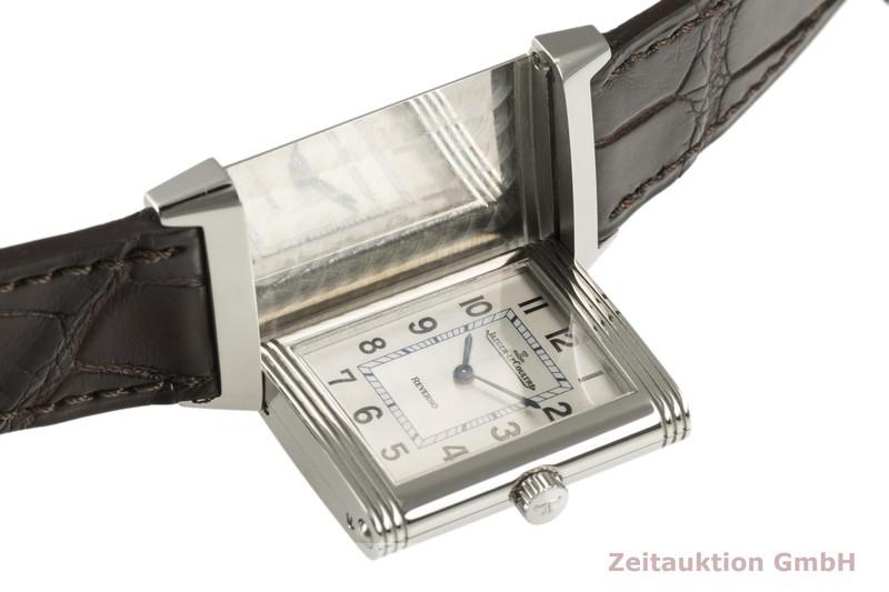gebrauchte Luxusuhr Jaeger LeCoultre Reverso Stahl Quarz Kal. 657 Ref. 252.8.47  | 2102468 _1
