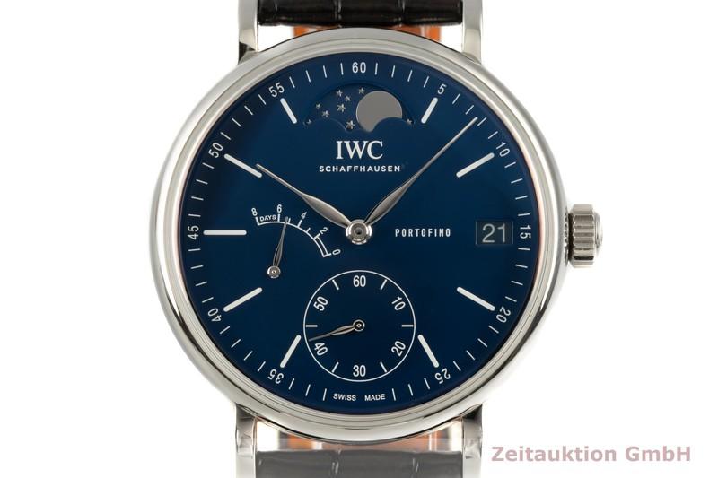 gebrauchte Luxusuhr IWC Portofino Stahl Handaufzug Kal. C.59800 Ref. IW516405    2102470 _0
