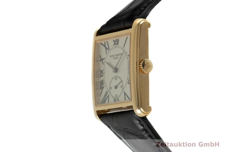gebrauchte Luxusuhr Patek Philippe Gondolo 18k Gold Handaufzug Kal. 215 Ref. 5014    2102473 _0