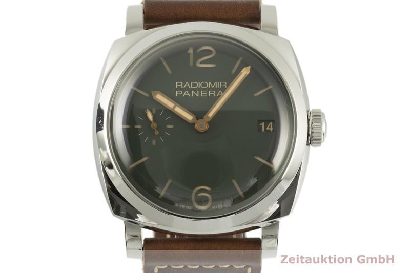gebrauchte Luxusuhr Panerai Radiomir Stahl Handaufzug Kal. P.3000 Ref. PAM00736 LIMITED EDITION | 2102488 _0