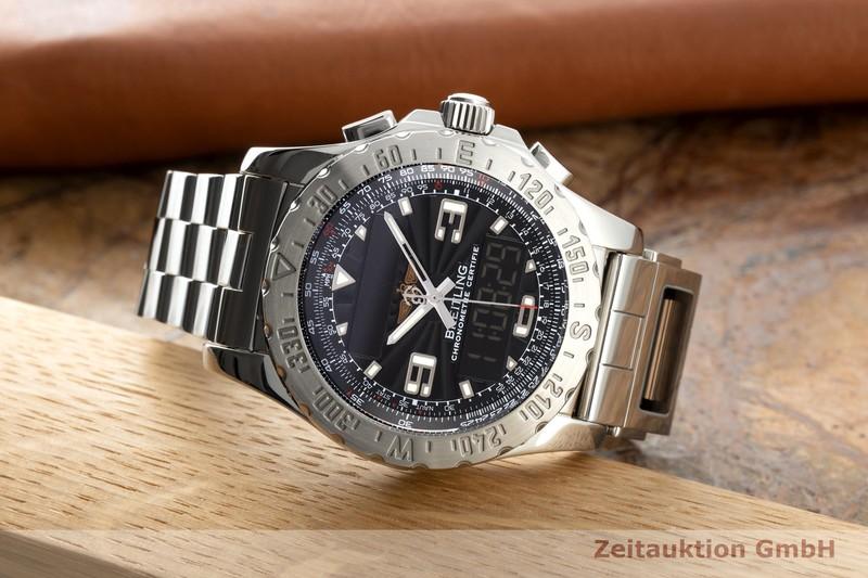 gebrauchte Luxusuhr Breitling Airwolf Chronograph Stahl Quarz Ref. A78363, A480174    2102533 _0