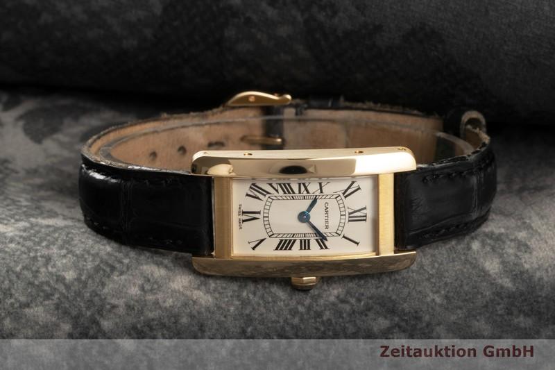gebrauchte Luxusuhr Cartier Tank Américaine 18k Gold Quarz Kal. 157 Ref. 2482  | 2102540 _0