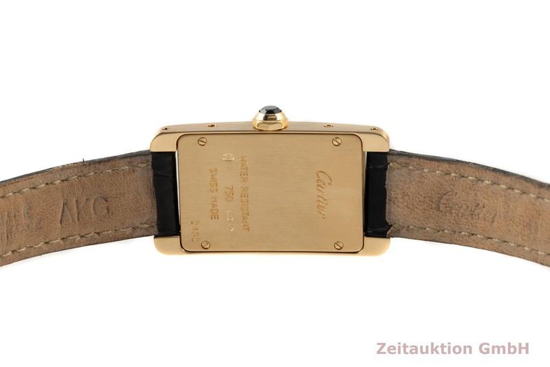gebrauchte Luxusuhr Cartier Tank Américaine 18k Gold Quarz Kal. 157 Ref. 2482  | 2102540 _1