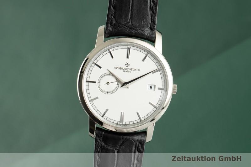 gebrauchte Luxusuhr Vacheron & Constantin Traditionnelle 18k Weissgold Automatik Kal. 2455 Ref. 87172/000G-9301    2102542 _0