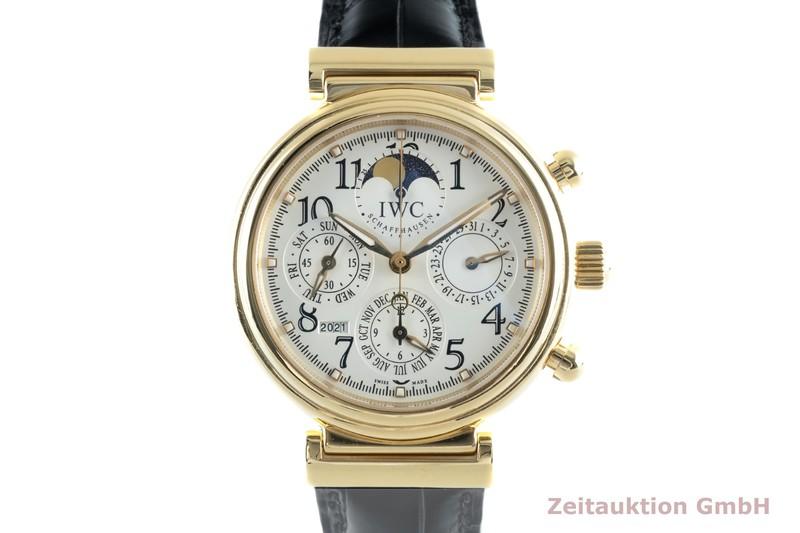 gebrauchte Luxusuhr IWC Da Vinci 18k Gold Automatik Kal. 79261 Ref. 3758  | 2102549 _0