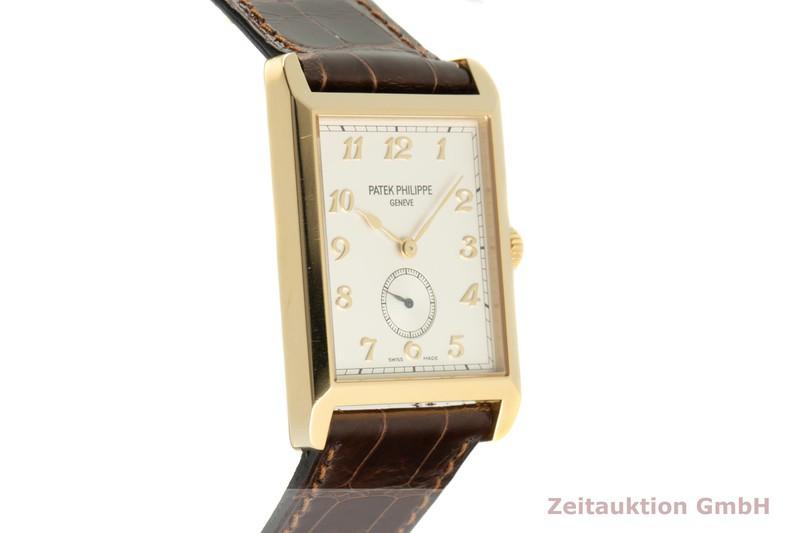 gebrauchte Luxusuhr Patek Philippe Gondolo 18k Gold Handaufzug Kal. 215 Ref. 5109  | 2102550 _0