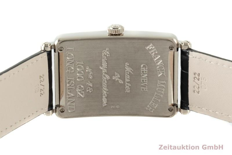gebrauchte Luxusuhr Franck Muller Long Island 18k Weissgold Quarz Kal. 032 Ref. 1000 QZ  | 2102555 _1