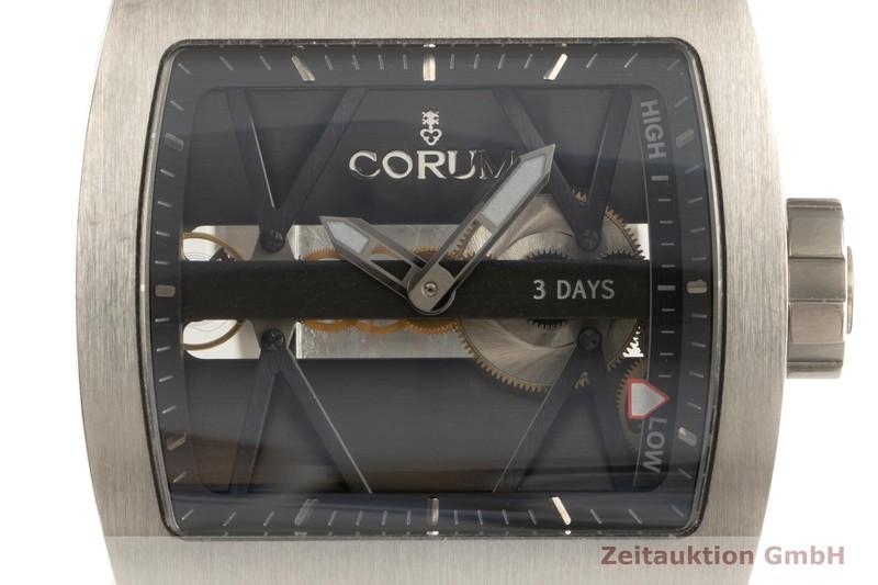 gebrauchte Luxusuhr Corum Ti-Bridge Titan Handaufzug Ref. 05.0056, 107.101.04/F371 0000 LIMITED EDITION | 2102558 _0