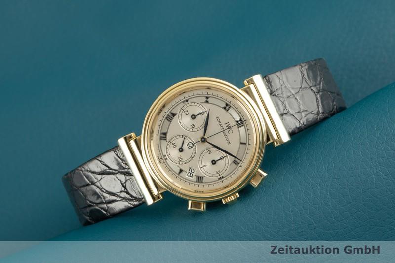 gebrauchte Luxusuhr IWC Da Vinci Chronograph 18k Gold Quarz Ref. 3739  | 2102578 _0