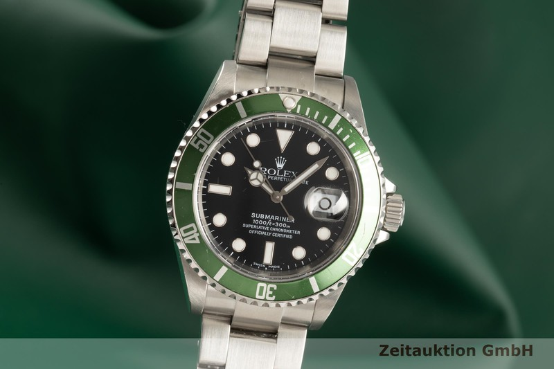 gebrauchte Luxusuhr Rolex Submariner Stahl Automatik Kal. 3135 Ref. 16610    2102581 _0