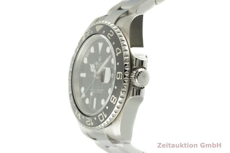 gebrauchte Luxusuhr Rolex GMT Master II Stahl Automatik Kal. 3186 Ref. 116710LN  | 2102588 _0