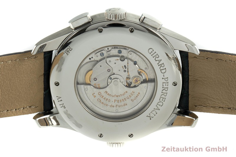 gebrauchte Luxusuhr Girard Perregaux Traveller Chronograph Stahl Automatik Kal. 3387 Ref. 49805 LIMITED EDITION | 2102592 _1
