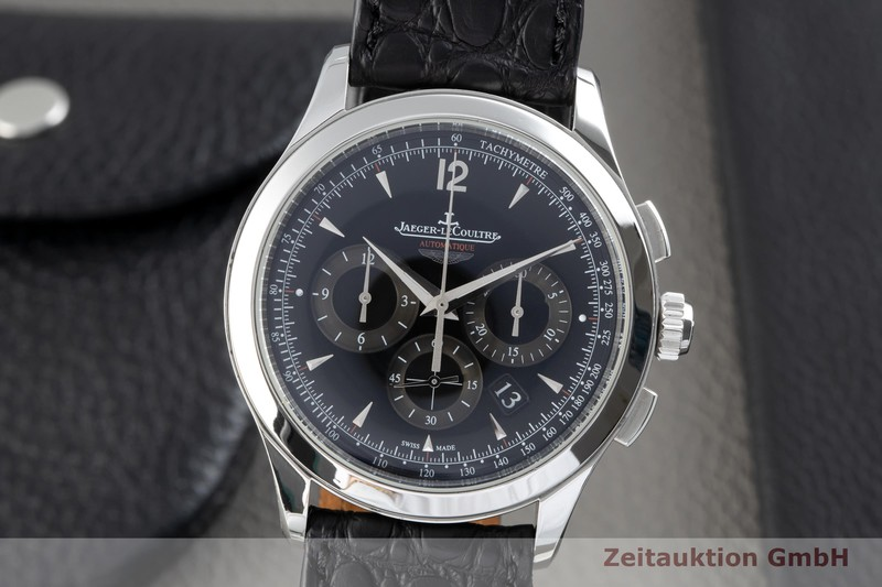 gebrauchte Luxusuhr Jaeger LeCoultre Master Control Chronograph Stahl Automatik Kal. 751/1 Ref. 174.8.C1  | 2102614 _0