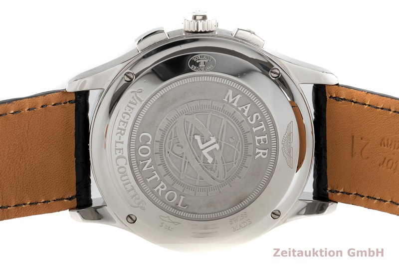 gebrauchte Luxusuhr Jaeger LeCoultre Master Control Chronograph Stahl Automatik Kal. 751/1 Ref. 174.8.C1  | 2102614 _1