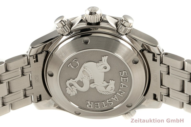 gebrauchte Luxusuhr Omega Seamaster Chronograph Stahl Automatik Kal. 1164 Ref. 213.30.42.40.01.001    2102619 _1