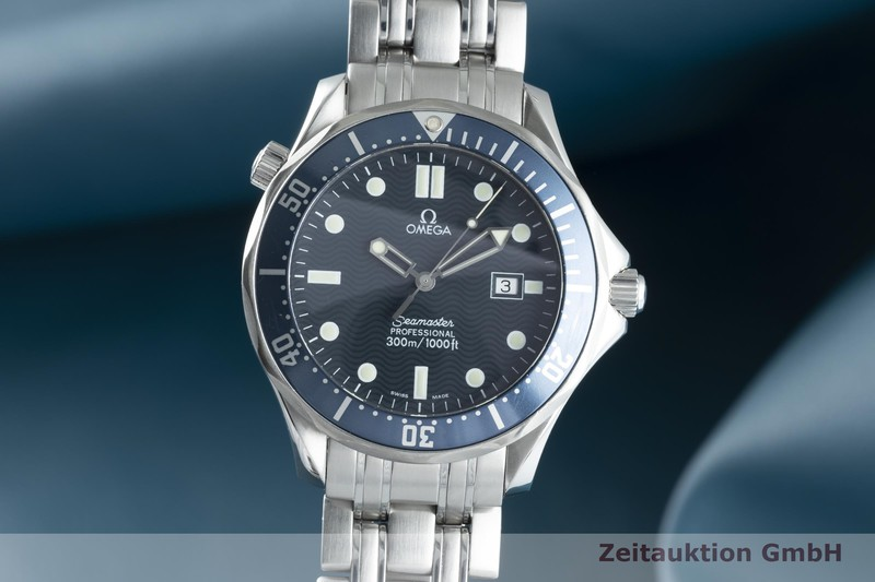 gebrauchte Luxusuhr Omega Seamaster Stahl Quarz Kal. 1538 Ref. 2541.80.00, 196.1523, 396.1523  | 2102620 _0