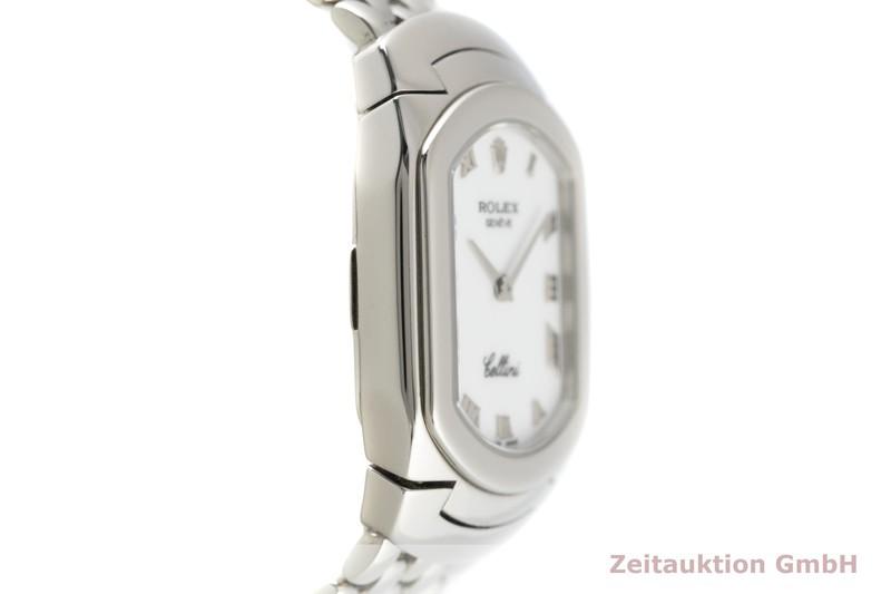 gebrauchte Luxusuhr Rolex Cellini 18k Weissgold Quarz Kal. 6621 Ref. 6631  | 2102626 _0