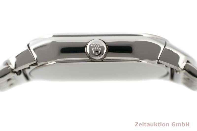 gebrauchte Luxusuhr Rolex Cellini 18k Weissgold Quarz Kal. 6621 Ref. 6631  | 2102626 _1