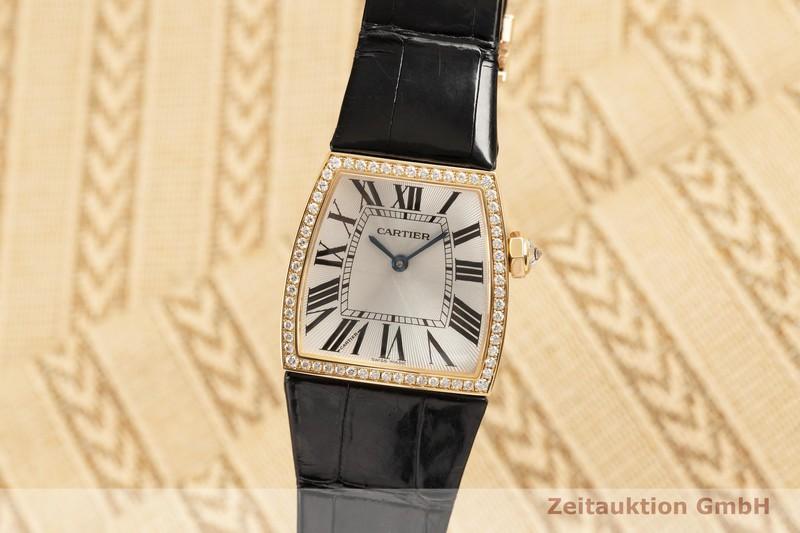 gebrauchte Luxusuhr Cartier La Dona 18k Gold Quarz Kal. 690 Ref. WE600551, 2836    2102628 _0
