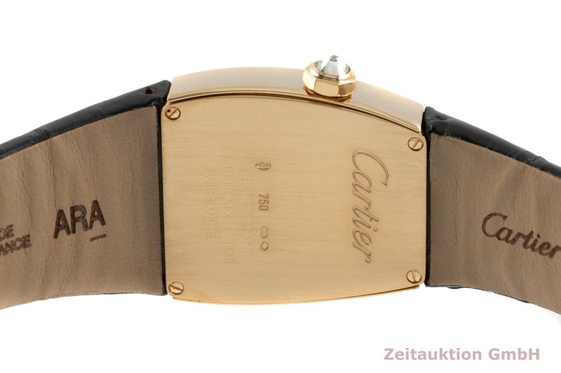 gebrauchte Luxusuhr Cartier La Dona 18k Gold Quarz Kal. 690 Ref. WE600551, 2836    2102628 _1