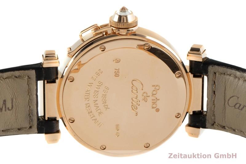 gebrauchte Luxusuhr Cartier Pasha 18k Rotgold Quarz Kal. 690 Ref. 2812  | 2102629 _1
