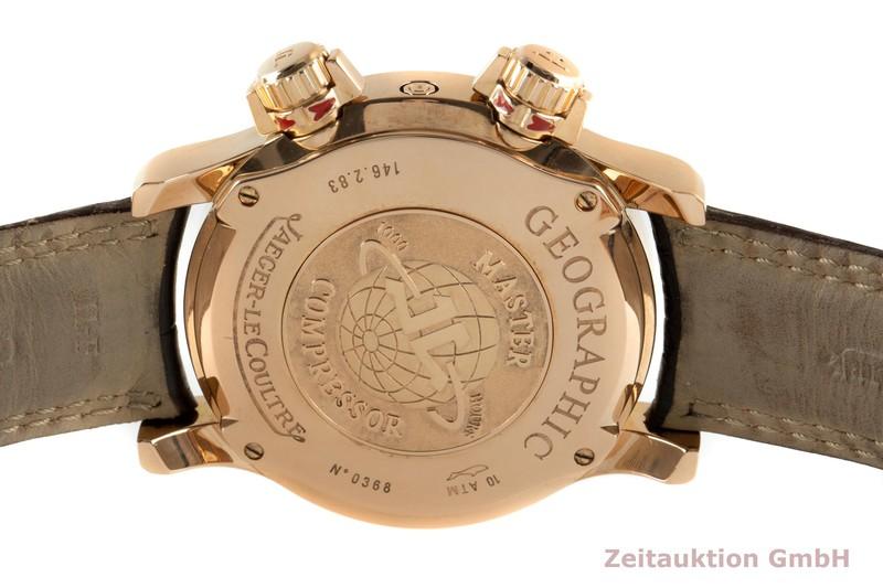 gebrauchte Luxusuhr Jaeger LeCoultre Master Geographic 18k Gold Automatik Kal. 923 Ref. 146.2.83  | 2102635 _1