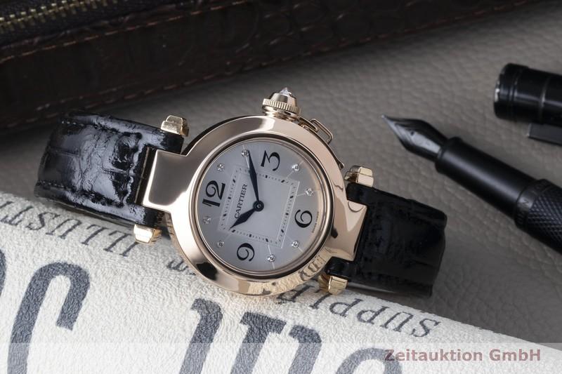 gebrauchte Luxusuhr Cartier Pasha 18k Rotgold Quarz Kal. 690 Ref. 2812  | 2102636 _0