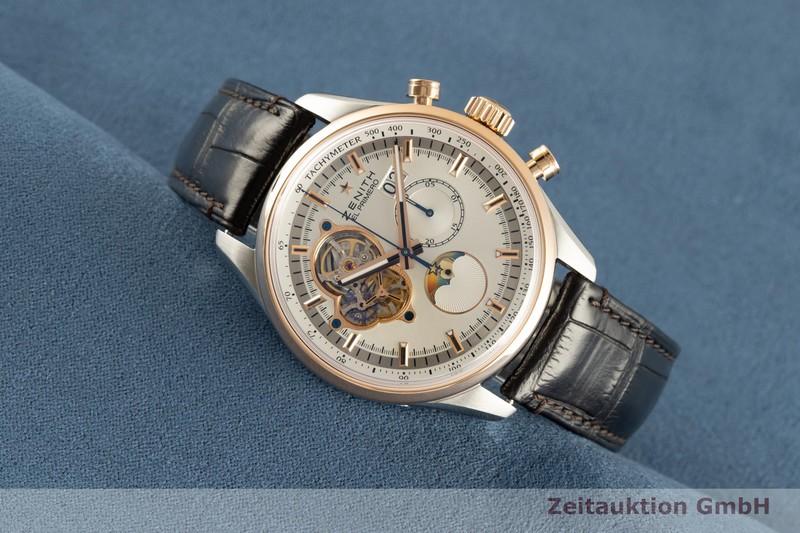 gebrauchte Luxusuhr Zenith El Primero Chronograph Stahl / Gold Automatik Kal. 4047 Ref. 51.2160.4047  | 2102649 _0
