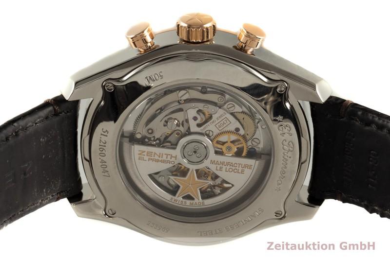 gebrauchte Luxusuhr Zenith El Primero Chronograph Stahl / Gold Automatik Kal. 4047 Ref. 51.2160.4047  | 2102649 _1