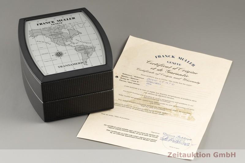 gebrauchte Luxusuhr Franck Muller Transamerica Chronograph Stahl Automatik Kal. FM7003 Ref. 2000 CCATO  | 2102657 _0